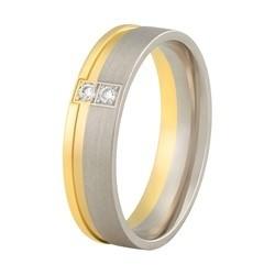 Aller Spanninga trouwring model 149 met 0,04crt diamant