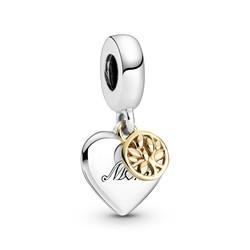 PANDORA Mum Heart and Family Tree 799366C00