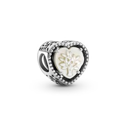 PANDORA Family tree charm with mother of pearl 799413C01