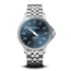 Meistersinger MeisterSinger Unomat UN917, staal/staal, staal blauwe wijzerplaat, automatisch uurwerk, saffier glas, 30 ATM