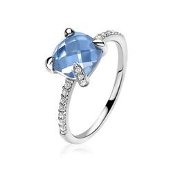 ZINZI Zilveren Ring ZIR1470B54