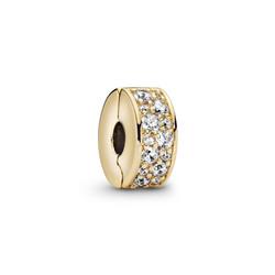 PANDORA 768658C01 14k Gold-plated clip