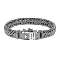 BUDDHA TO BUDDHA J070BR SS Ben XS Bracelet Black Rhodium Shine Silver