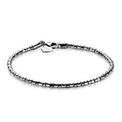 ZINZI Zilver gerhodineerde armband fantasie schakel ZIA1129