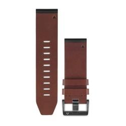 GARMIN Band 010-12517-00 Bruin Leder Fenix 5X, 26mm