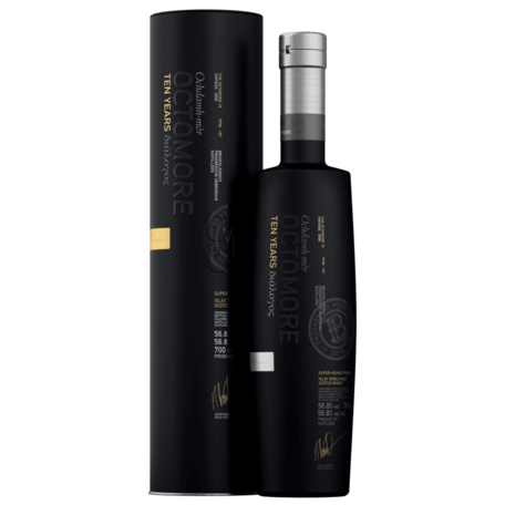 Octomore 10 Year Old, 56.8%