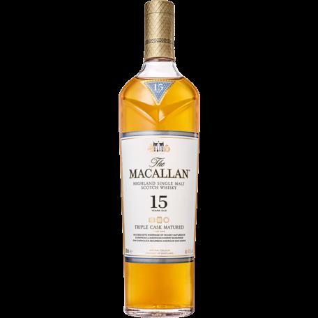 Macallan 15 Triple Cask, 43%