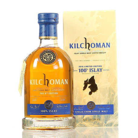 Kilchoman 100% Islay 8th Edition, 50%