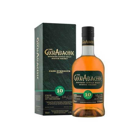 Glenallachie, 10 Year Old, Cask Strength, Batch 2, 54.8%