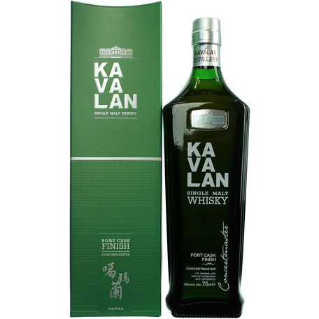 Kavalan Concertmaster Port Cask Single Malt 40%, 70cl