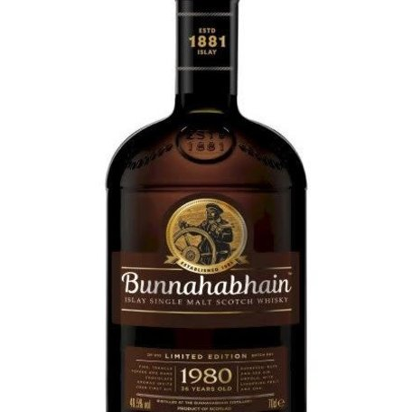 Bunnahabhhain Canasta 1980 36 Year Old 70cl / 49.5%