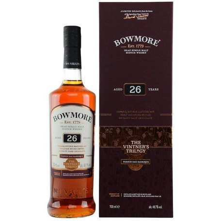 Bowmore 26 Year Old, Vintners Trilogy, 48.7%