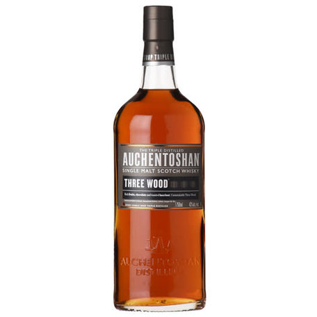 Auchentoshan Three Wood, 43%