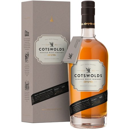 Cotswolds Single Malt Whisky, 46%