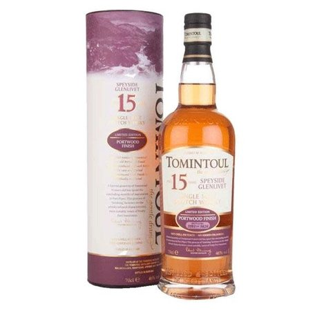 Tomintoul 15 Year Old Port Wood Finish 46%