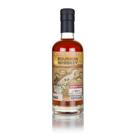 Bourbon Whiskey #1, Batch 1, 24 Year Old, That Boutique-y Whisky Company, 48.0%, 50cl