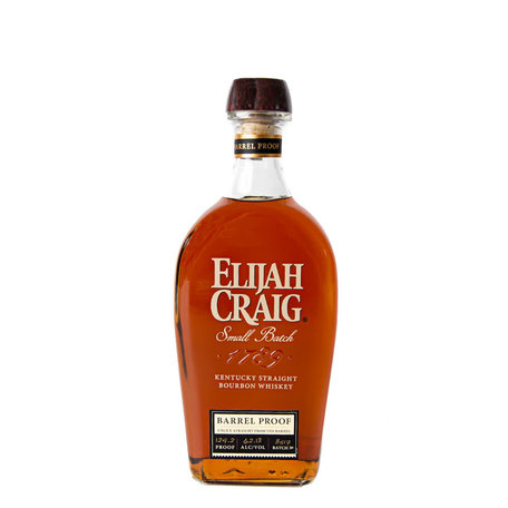 Elijah Craig, Small Batch, Barrel Proof Bourbon, 62.12%