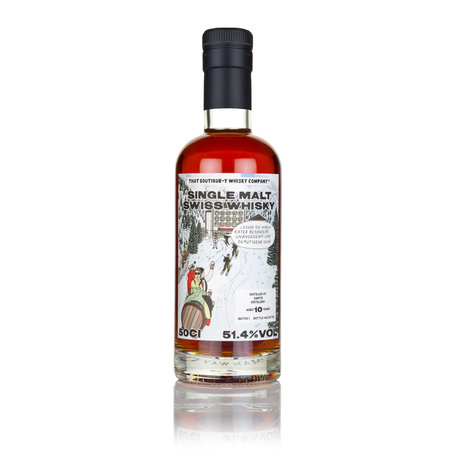 Santis Malt, 10 Year Old, Batch 1, Boutique-y Whisky Company, 51.4%