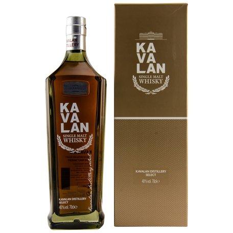 Kavalan Distillery Select, 40%