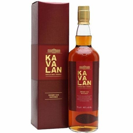Kavalan Sherry Oak, 46.0%