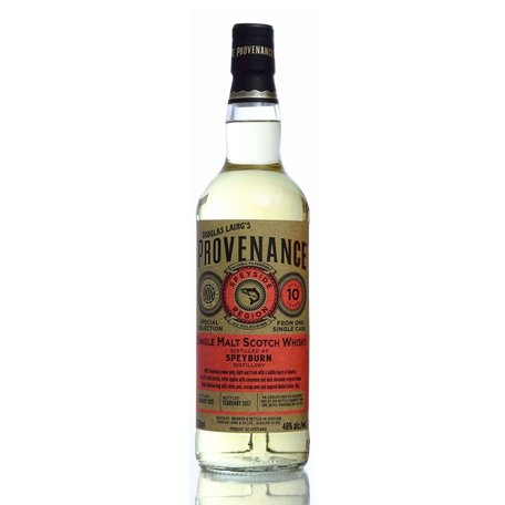 Speyburn, 10 Year Old, Provenance, 2008, 46.0%
