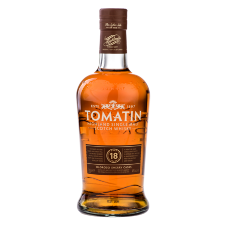 Tomatin, 18 Year Old, 46%