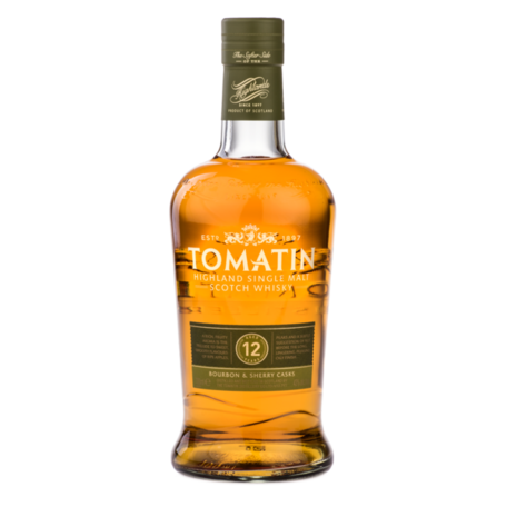 Tomatin 12 Year Old, 43%