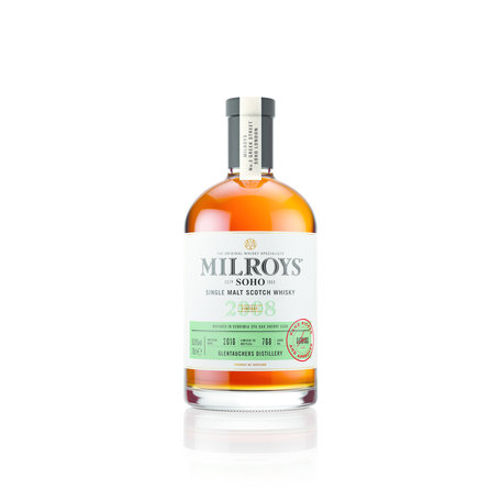 Milroys Glentauchers 8 Year Old Single Malt Whisky 65.1% 2008