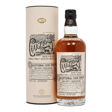 Craigellachie, 17 Year Old, Exceptional Cask, Palo Cortado FInish 46%