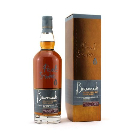 Benromach Peat Smoke Sherry Matured, 2010, 59.9%