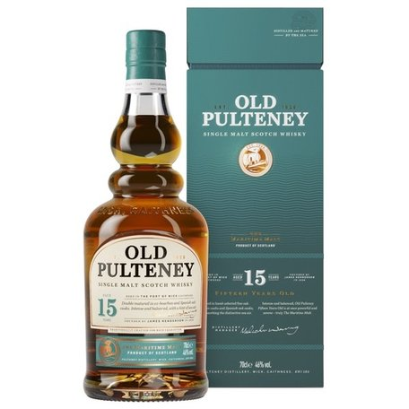 Old Pulteney 15 Year Old, 46.0%