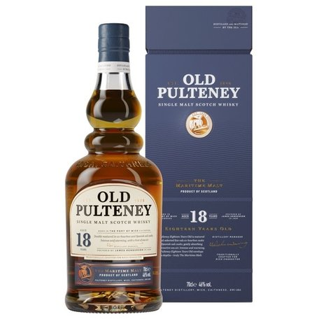 Old Pulteney 18 Year Old, 46.0%