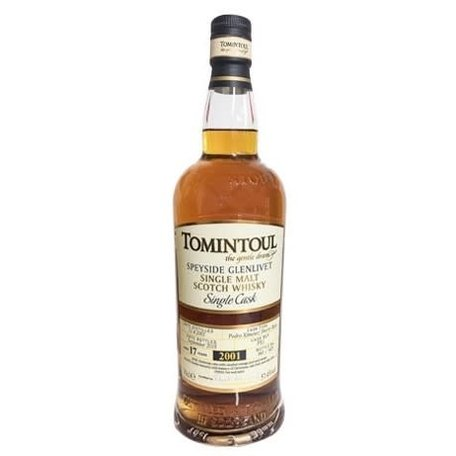 Tomintoul Single Cask 13 Year Old, Sherry Cask No.5, 59.2%