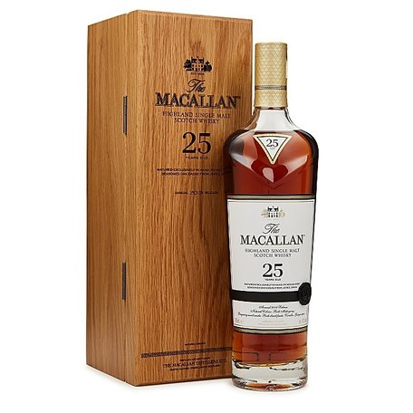Macallan 25 Year Old, Sherry Oak, 70cl, 43%