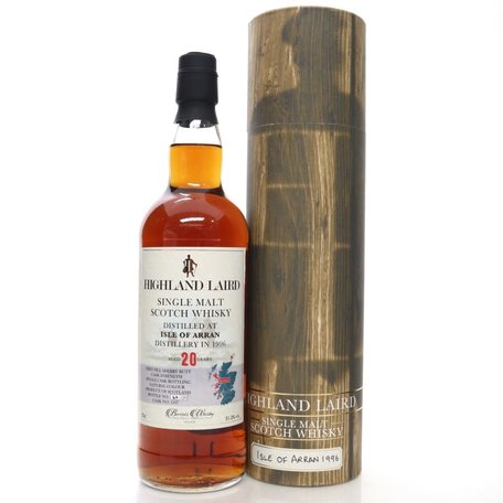 Arran 20 Year Old, Highland Laird, 1996, 51.3%