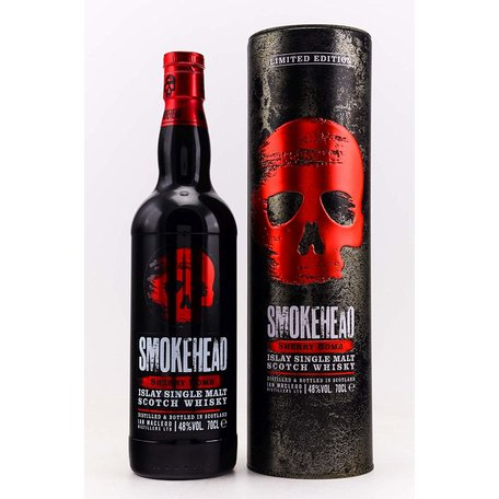 Smokehead Sherry Bomb, 48%
