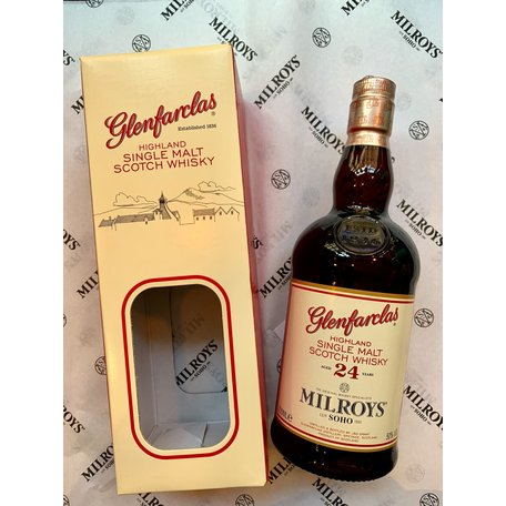 Glenfarclas 24 Year Old, Milroys Exclusive, 50%