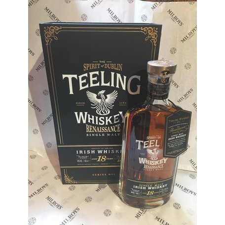 Teeling 18 Year Old, Renaissance Single Malt Series 1, 46%