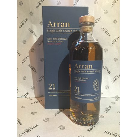 Arran 21 Year Old, 46%