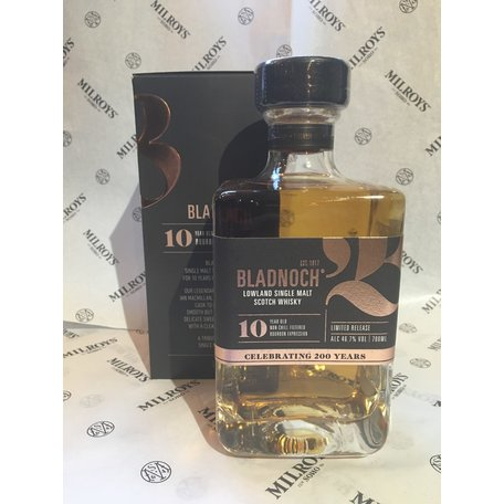 Bladnoch 10 Year Old, 46.7%