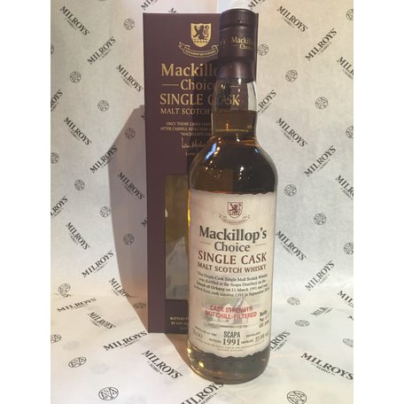 Scapa Mackillop's Choice, 1991, 55.9%