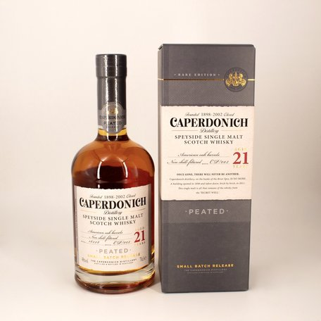 Caperdonich 21 Year Old Peated, 48%