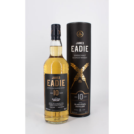 Blair Athol 10 Year Old, James Eadie, Re-charred Hogshead Single Cask, 56.2%