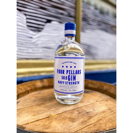 Four Pillars Navy Strength Gin, 58.8%