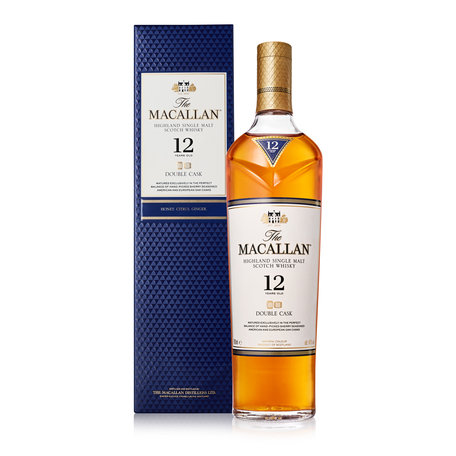 Macallan 12 Year Old, Double Cask, 40%