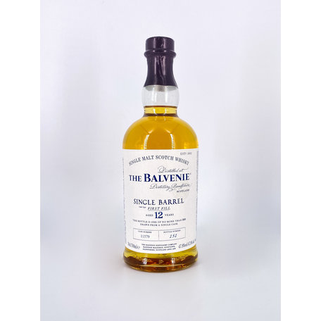 Balvenie 12 Year Old, Single Barrel, 47.8%