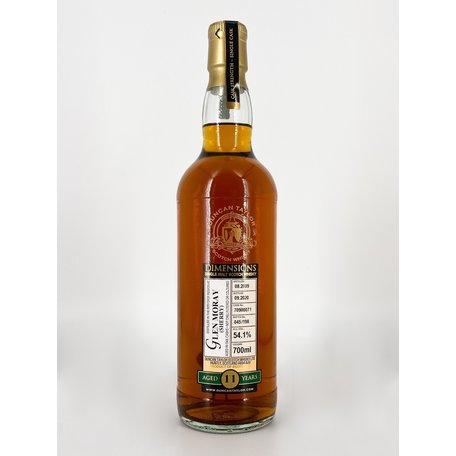 Glen Moray 11 Year Old,  Sherry, Dimensions, 2009, 54.1%