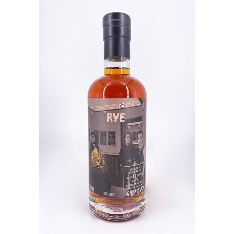 Distillery 291,11 Months Old, That Boutique-y Rye Company, 49.9%, 50cl