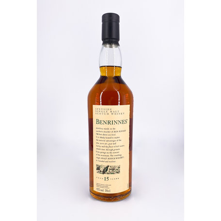 Benrinnes, 15 Year Old, Flora & Fauna, 43%
