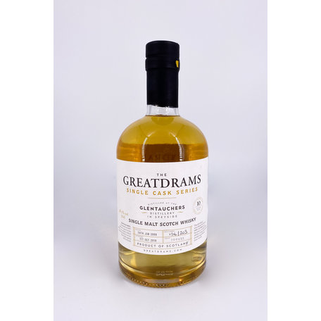 Glentauchers 10 Year Old, The Great Drams, 48.2%